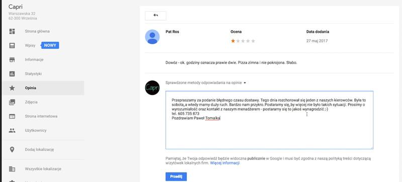 usuwanie opinii google plus 8