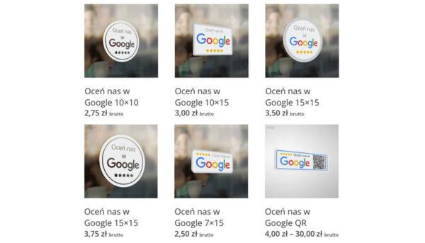 naklejki ocen nas google moja firma 600x343