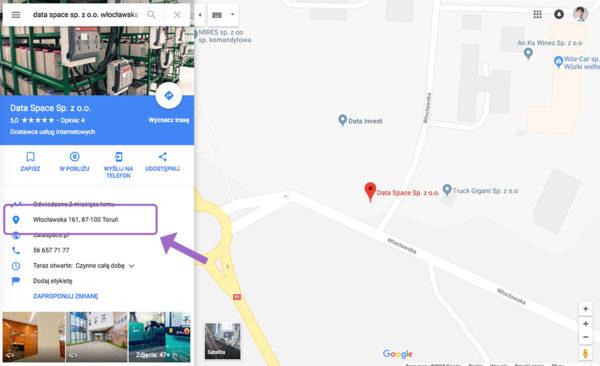 Jak zglosic blad nawigacji w Mapach Google Bledne wskazowki dojazdu 1 600x366