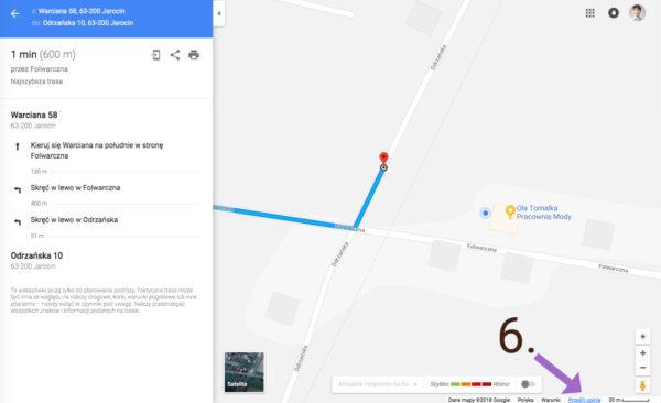 Jak zglosic blad nawigacji w Mapach Google Bledne wskazowki dojazdu 6 600x366