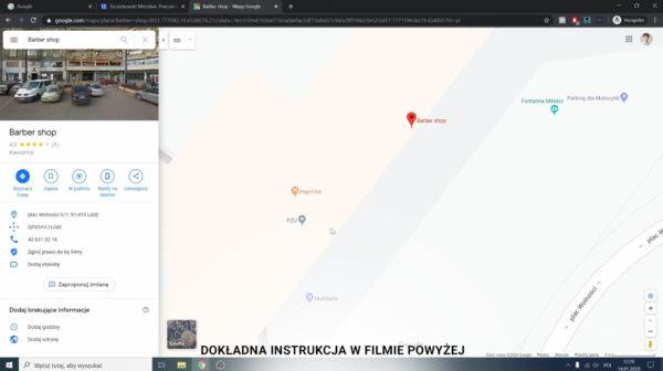 Jak usunąć duplikat wizytówki lokalizacji firmy w Mapach Google 2 600x336